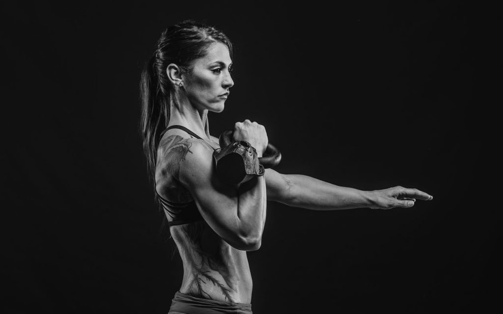 home kettlebell workout for arms