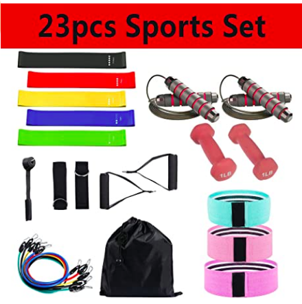 best resistance band set for legs and glutes