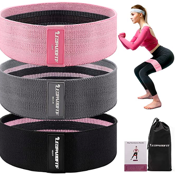 LeopardFit resistance band for glutes