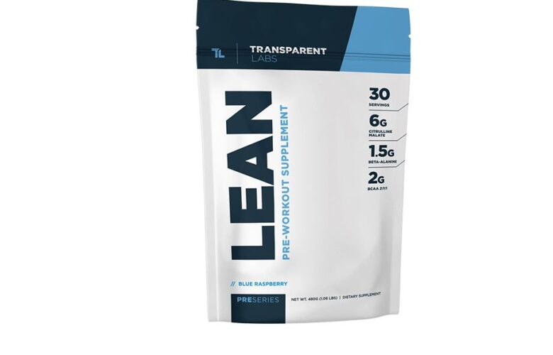 transparent labs preseries lean pre-workout review