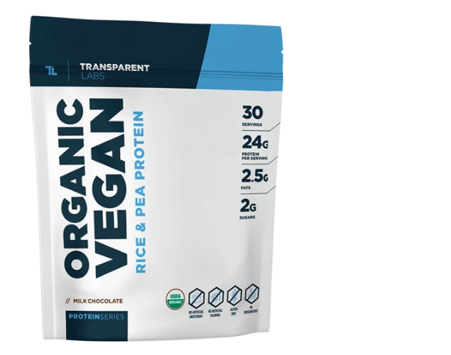 Transparent Labs Organic Vegan Protein review