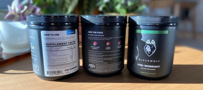 Black Wolf Pre-Workout Review