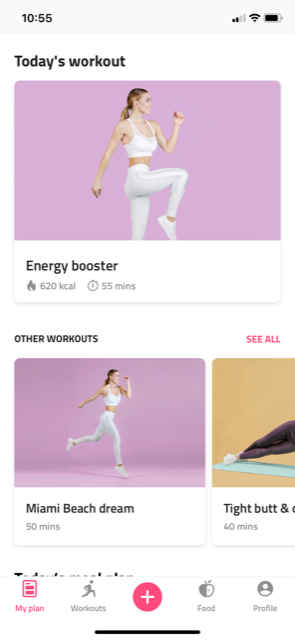 Reshape Me review of workouts